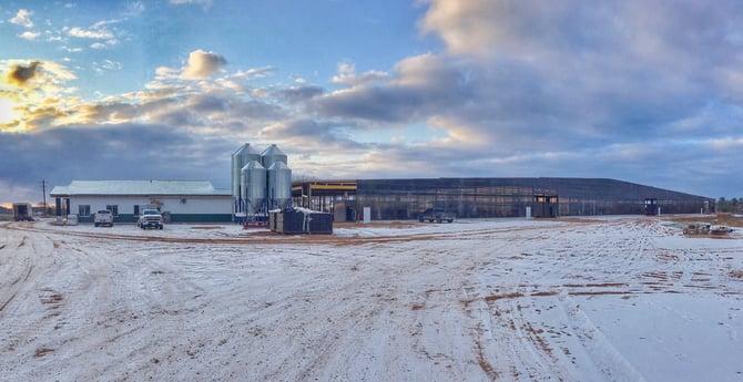 Horsens Homestead Farm's new facility