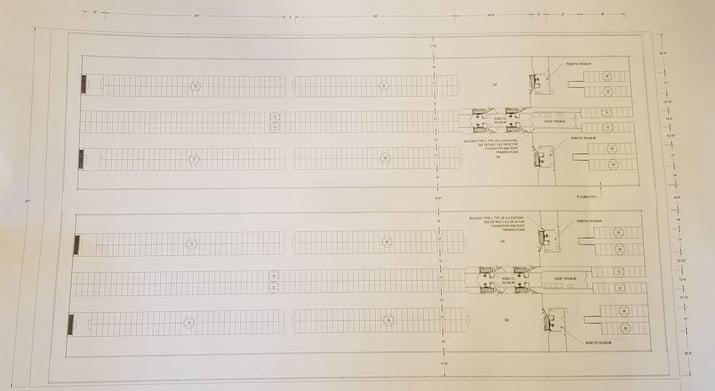 Fred Rau Dairy barn layout