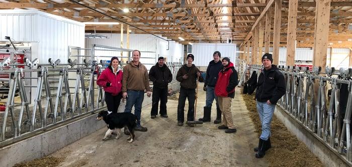 Venteichers of Honey Creek Dairy