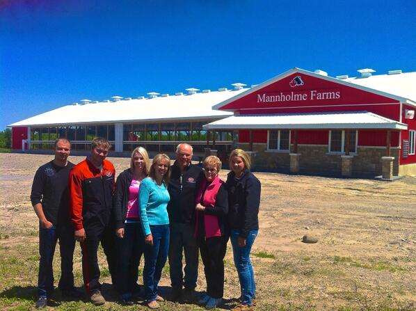 Mannholme Farms, Bridgenorth, Ontario Canada Submitted by: Emily Mann
