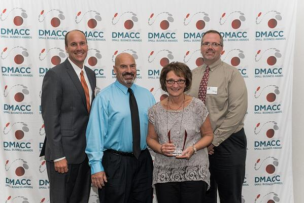 DMACC presents Lely with Most Innovative Company award