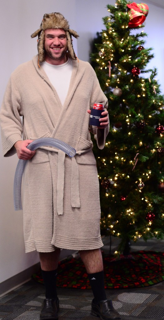 Dec19 Lely employee Christmas lunch 2014 045-Cousin Eddie edited