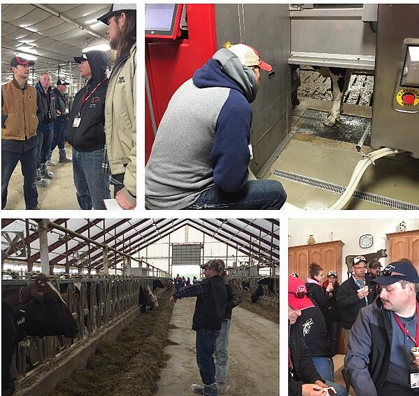 Lely Journey touring Midwest dairy operations