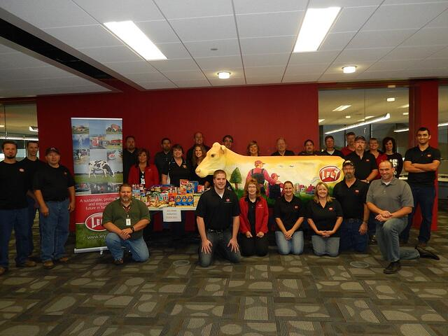 Lely Employees Food Share - 2014Sept.17