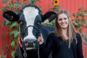 Rachel Boonstoppel recipient of Lely's Future of Dairy Scholarship Program.