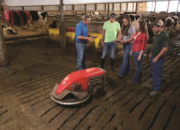 Lely created the Future of Dairy Scholarship to go to students at accredited universities who are pursuing majors that will equip them to contribute to the dairy industry.