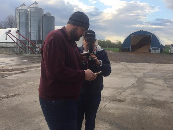 Murrock Farms using Lely technology