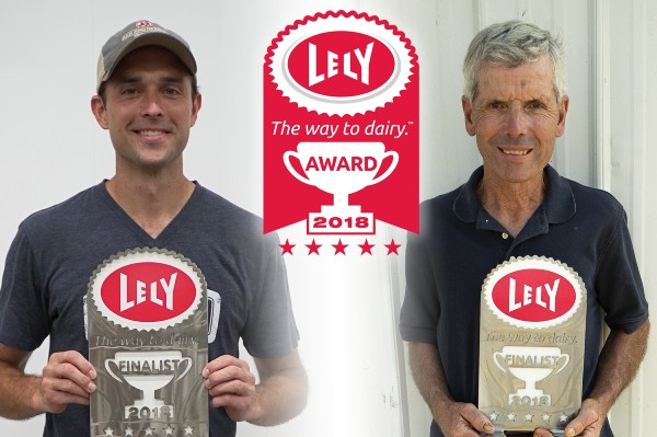 The Way to Dairy Award finalists Dustin Takes and Charles Carter