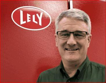 Lely Center Senior Farm Management Support Advisor Tom Sauerman
