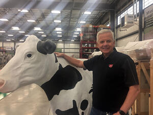 Tony Solon, Product manager for aftermarket products, Lely North America