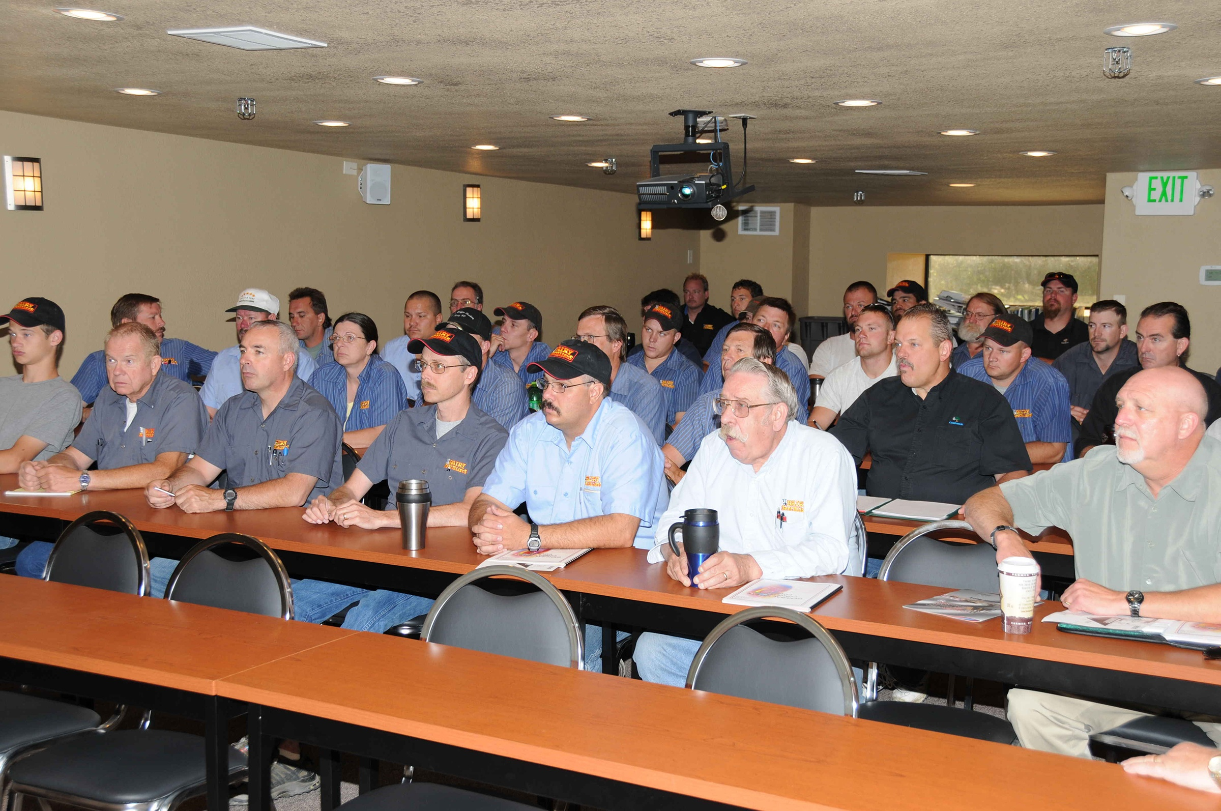 Dairy Specialists staff attends training sessions as they join Lely, the worldwide leader in robotic milking and feeding.