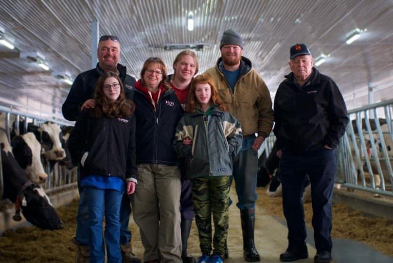 The Louwagie family of Hillmanor Farms