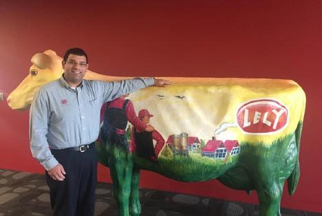 Senior Farm Management Support Advisor Adam Griffin