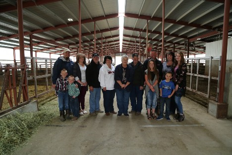 Circle T Dairy family