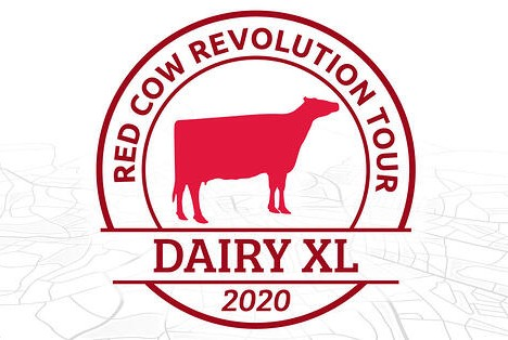 Red Cow Revolution Dairy XL 2020 logo