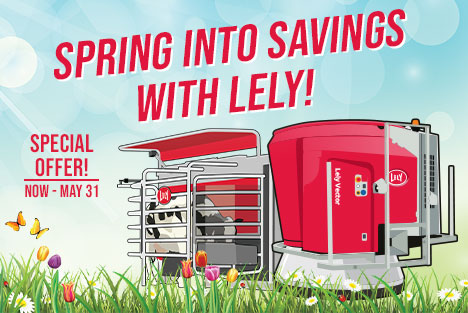 Lely Spring Financing Offer 2020
