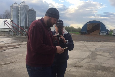 Murrock Organic Dairy Farms using Lely technology