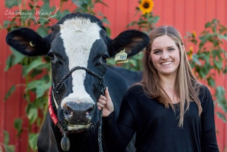 Rachel Boonstoppel is a recipient of Lely's Future of Dairy Scholarship Program.