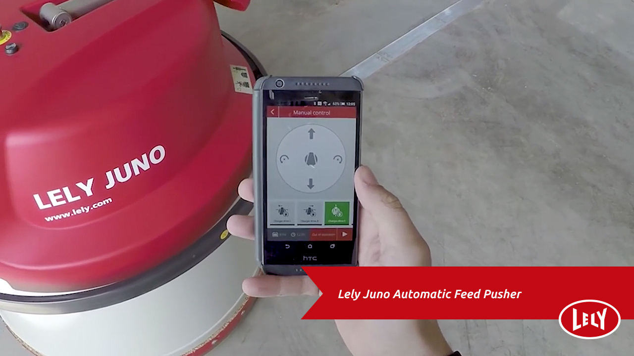 Lely Juno Automatic Feed Pusher